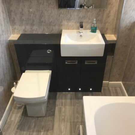 Portfolio Example - Deluxe Bathroom Installers in Burton on Trent & Derby