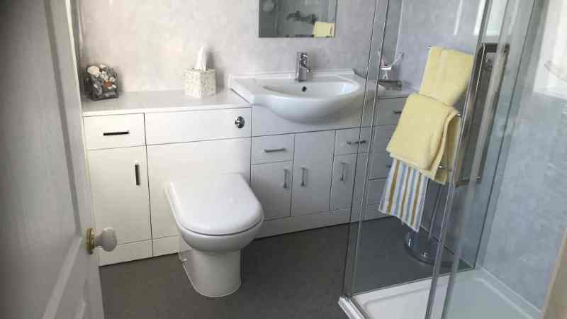 Bathroom Converted to Wetroom with walk in Shower in Tamworth for easy access and people with mobility or disabled
