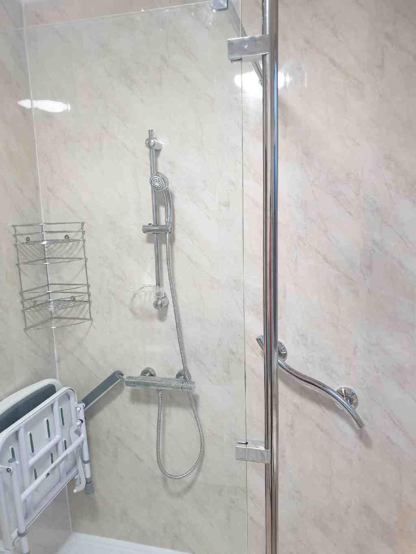 Gallery Easy Access walk in shower Kings Heath Mrs Grainger 02