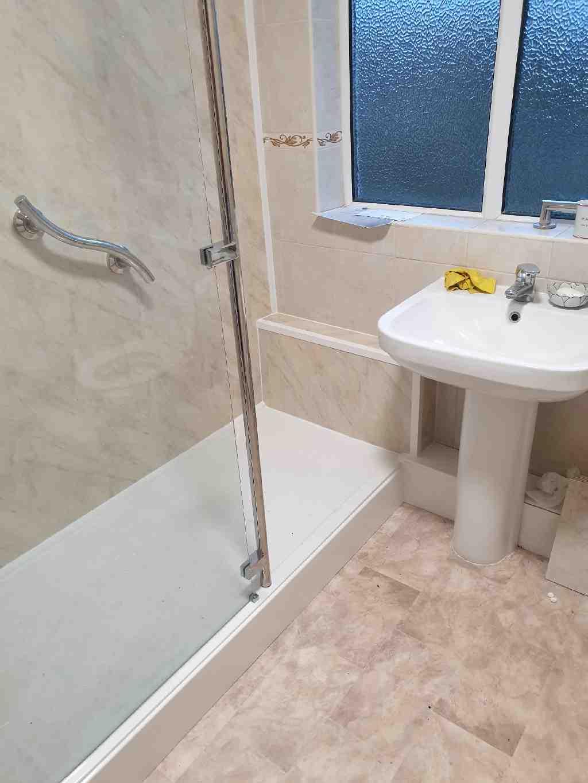 Gallery Easy Access walk in shower Kings Heath Mrs Grainger 05