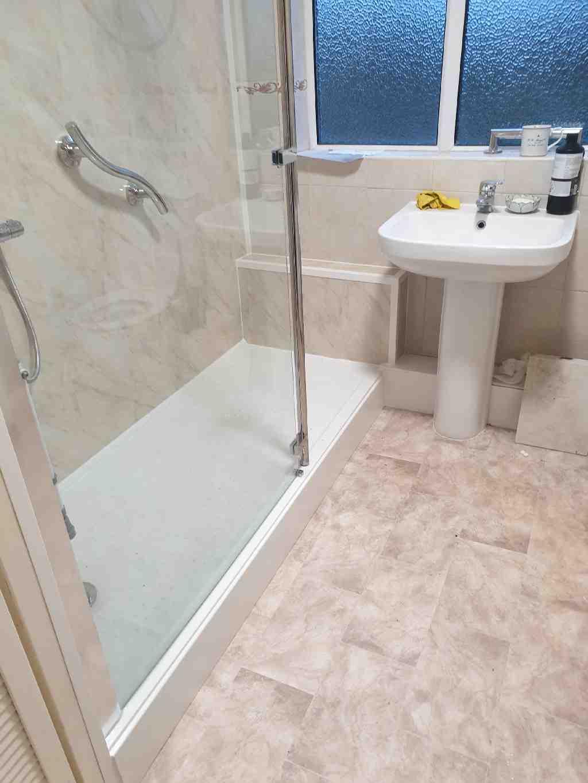 Gallery Easy Access walk in shower Kings Heath Mrs Grainger 06