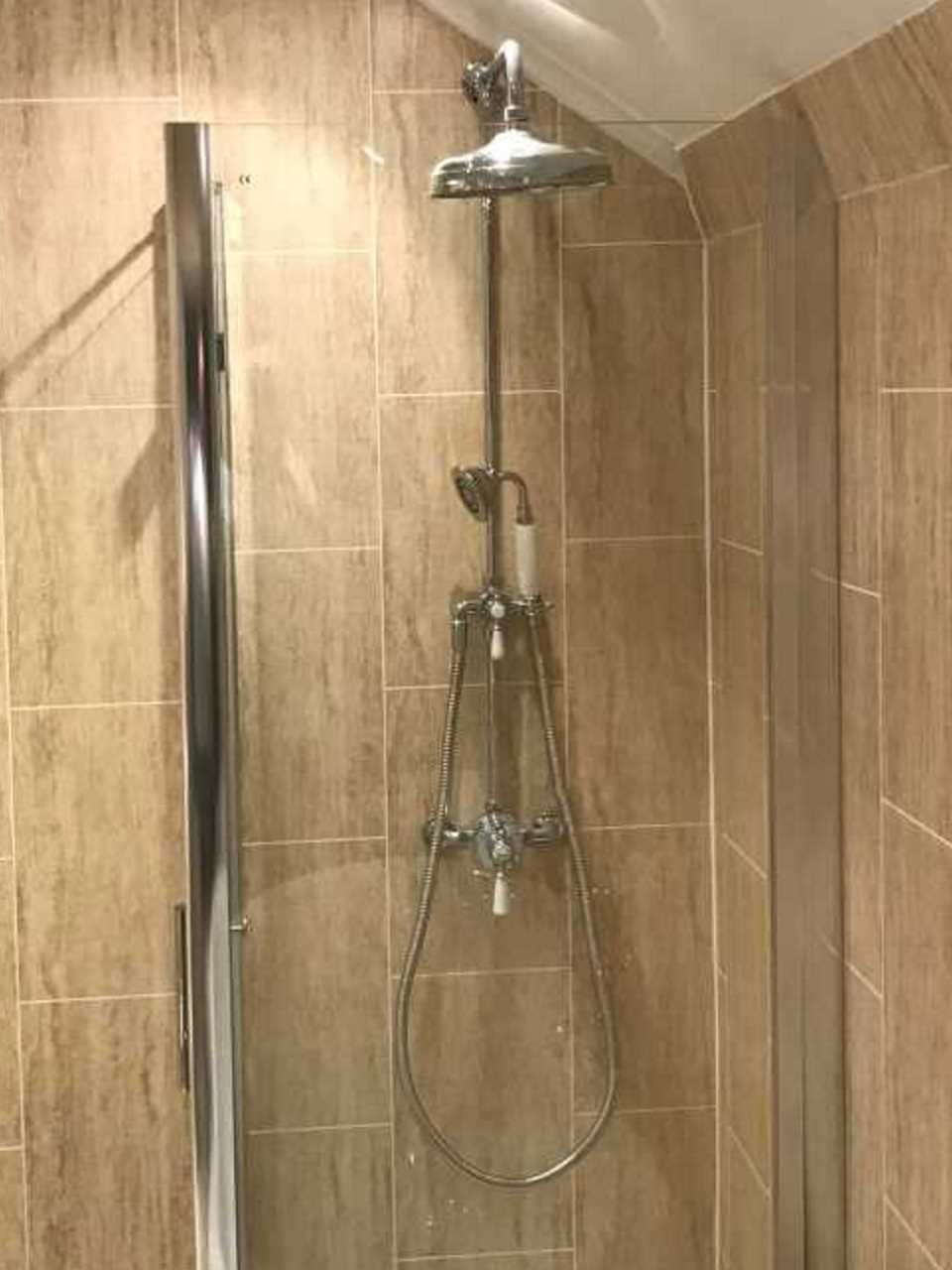 Luxury Shower Enclosure installed in bathroom Designed for All Family