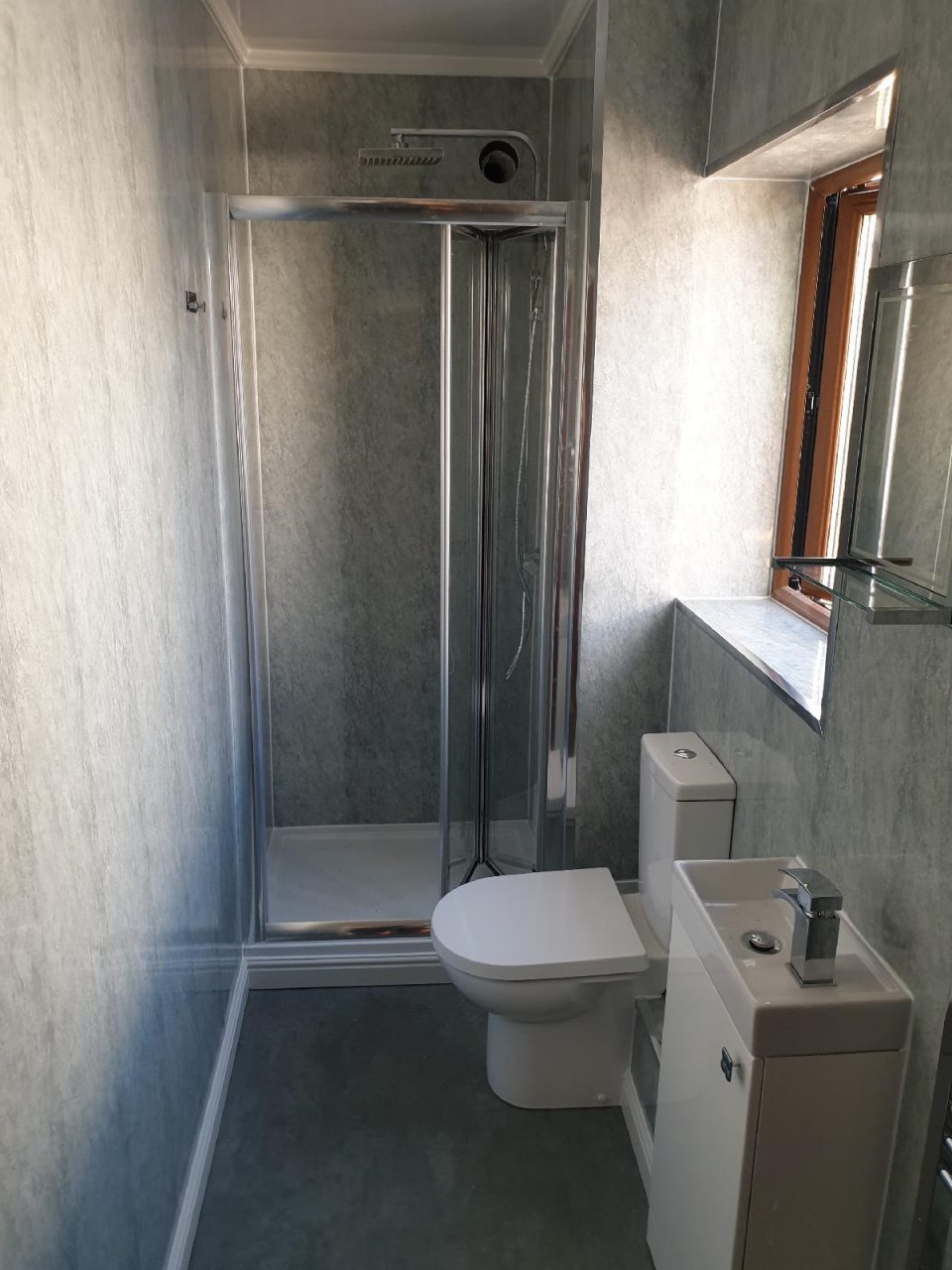 New Bathroom Mrs Wootton in Birmingham Guest Cloakroom