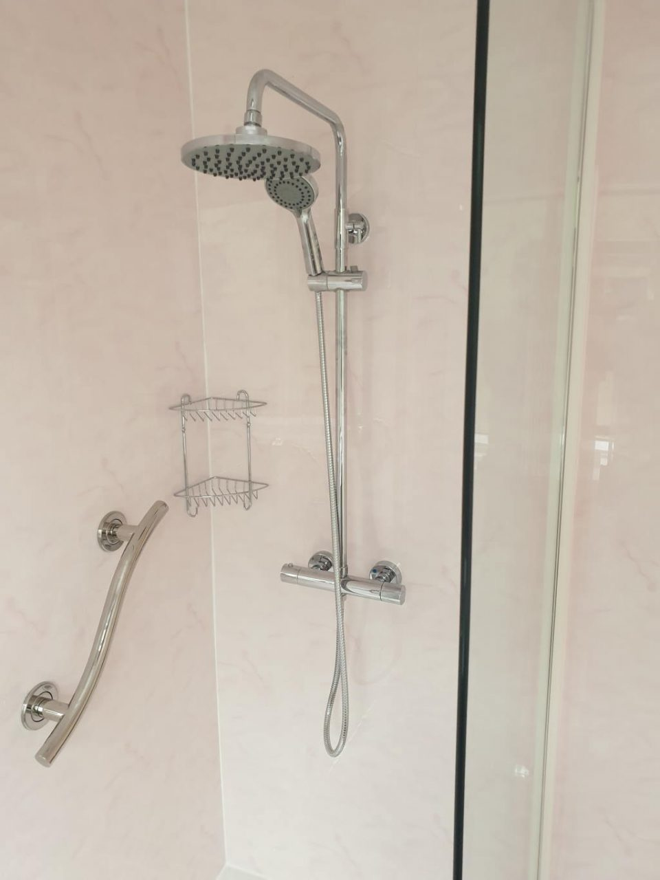 New Ensuite Bathroom Fitter in Walsall Mrs Holmes Walsall Shower Room Installer Grab Rail