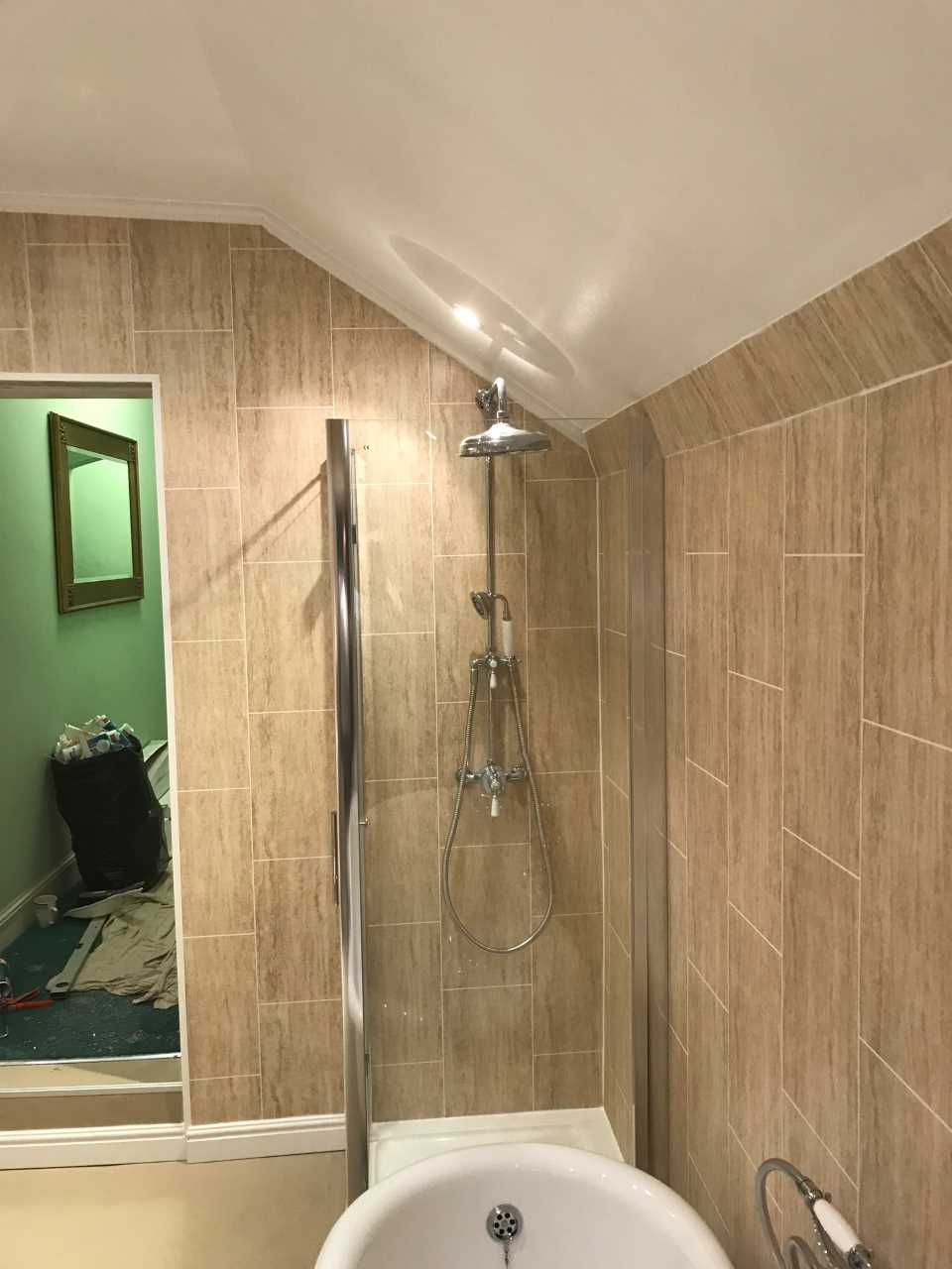 Shower Enclosure installed in bathroom Designed for All Family