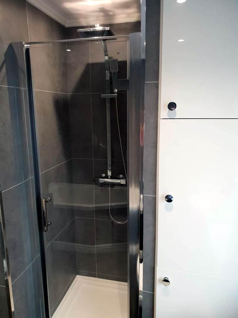 Walk in Shower and bath Complete bathroom renovation