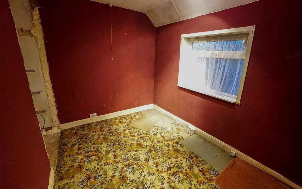 Before image of Room converted to Luxury Bathroom in Birmingham home with a Walk in Showers - Before - Mags & Martin in Birmingham