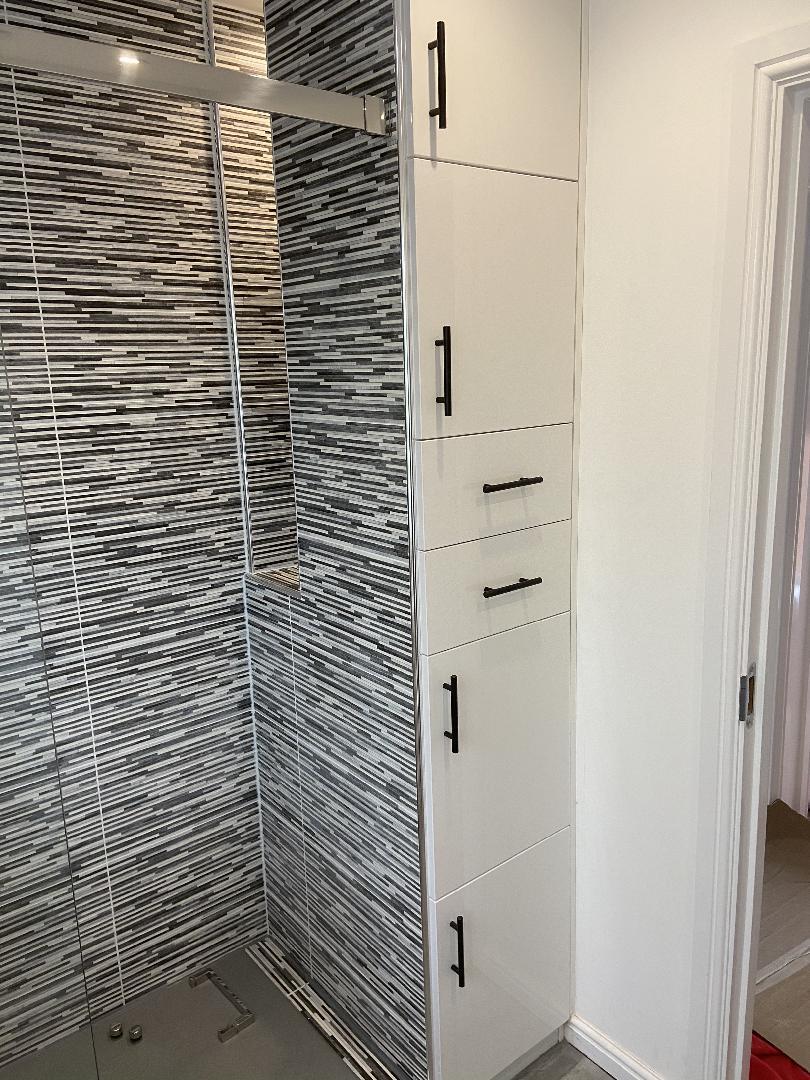 Walk in shower bathroom conversion bespoke 4
