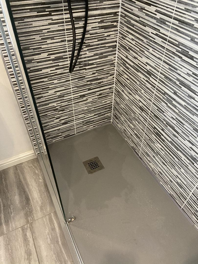 Walk in shower bathroom conversion bespoke 7