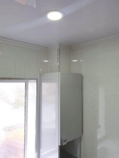 portfolio Example - Luxury Bathrooms Birmingham Wet Room - Bathroom Lighting - LED Spot Lights