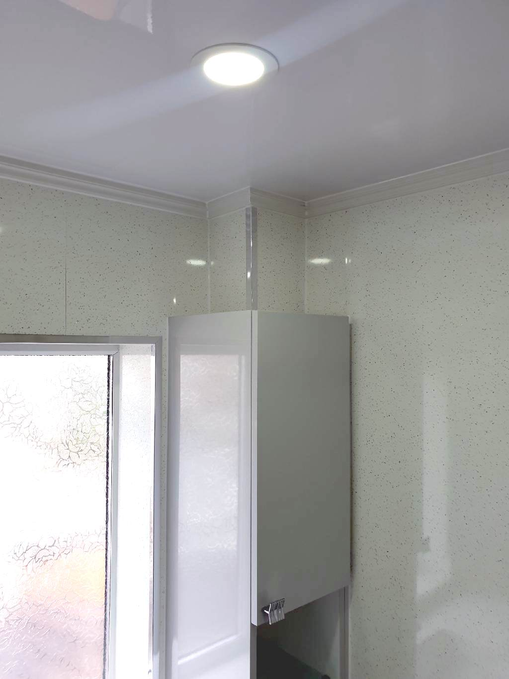 portfolio Example - Luxury Bathrooms Birmingham Wet Room - Bathroom Lighting - LED Spot Lights