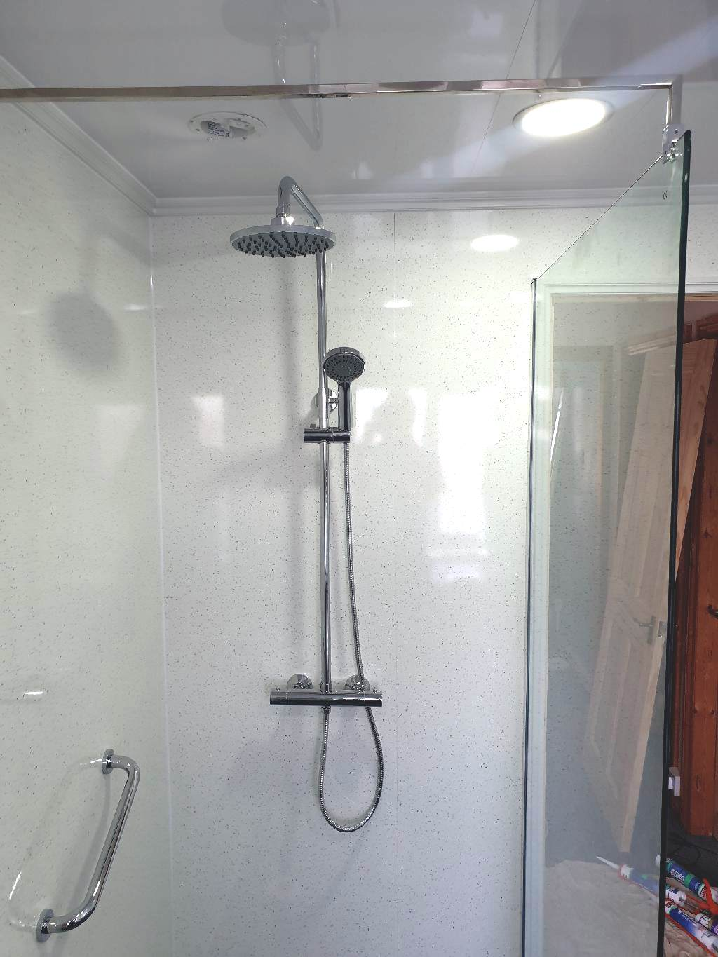 portfolio Example - Luxury Bathrooms Birmingham Wet Room - Walk in Showers